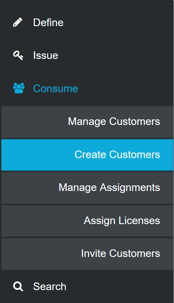 Consume Customer Nav
